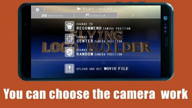 FLYING LOGO BUILDER ScreenShot1