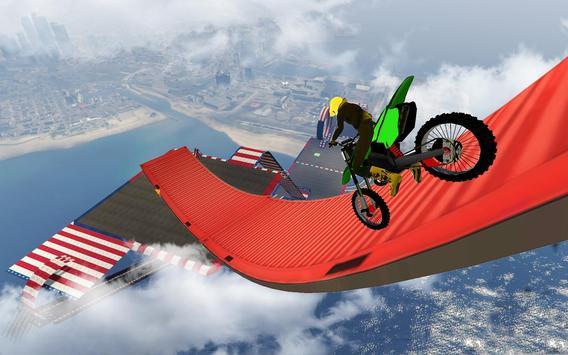 Bike Impossible Tracks Race: 3D Motorcycle Stunts ScreenShot1