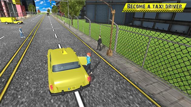Taxi Driving in Rush City ScreenShot1