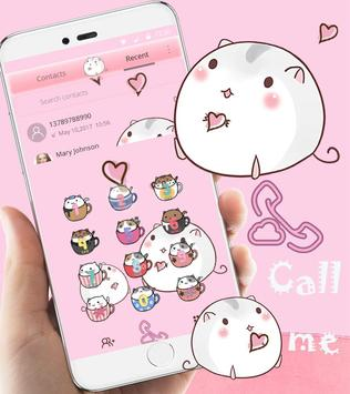 Cute Cup Cat Theme Kitty Wallpaper and icon pack ScreenShot1