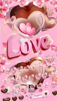 Chocolate Love Keyboard Theme 10001002 Free for Android
