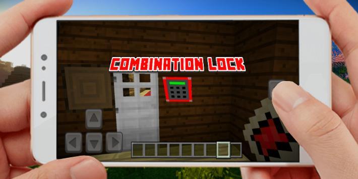 Security Home Device Mod Minecraft PE ScreenShot1
