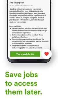 Jora Jobs - Job Search, Vacancies and Employment App
