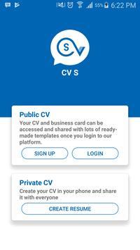 CVS (CV Editor  - Resume) ScreenShot1