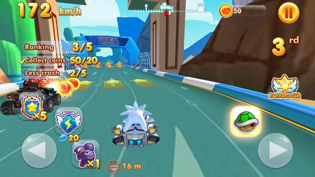 Ultra Sonic Speed: art Racing ScreenShot1