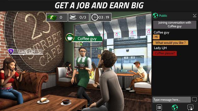 Avakin Life  3D Virtual World ScreenShot1