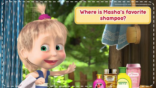 Masha and the Bear: House Cleaning Games for Girls ScreenShot1