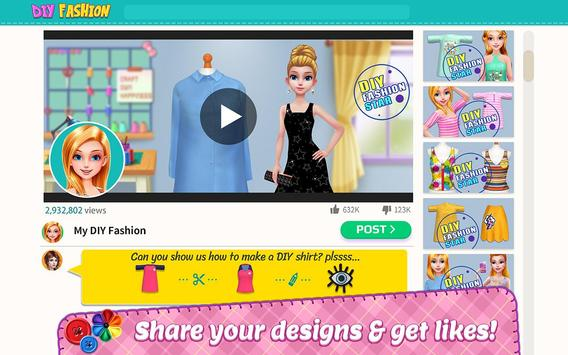 DIY Fashion Star  Design Hacks Clothing Game ScreenShot1