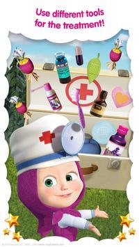 Masha and the Bear: Free Animal Games for ids ScreenShot1