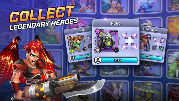 Legends at War! ScreenShot1