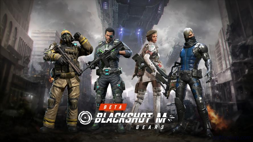 BlackShot M : Gears ScreenShot1