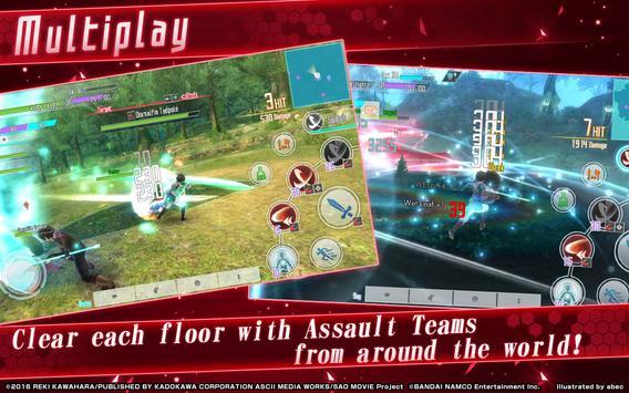 Sword Art Online: Integral Factor ScreenShot1