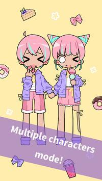 Cute Girl Avatar Maker  Cute Avatar Creator Game ScreenShot1