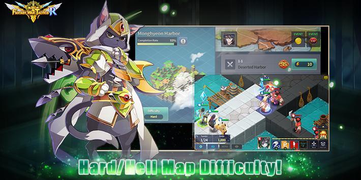 Fantasy War Tactics R ScreenShot1