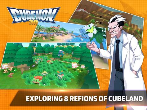 Cubemon 3D:MMORPG Monster Game ScreenShot1