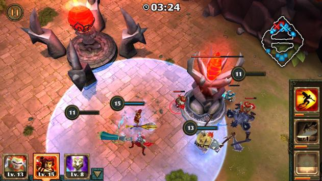 Legendary Heroes MOBA ScreenShot1