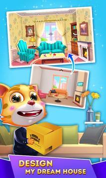 Cat Runner: Decorate Home ScreenShot1