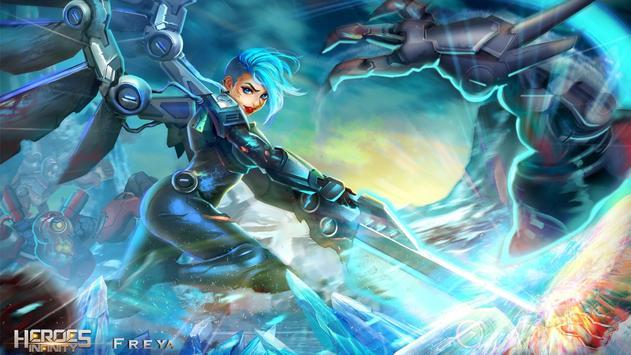 Heroes Infinity: Blade and night Online Offline RPG ScreenShot1