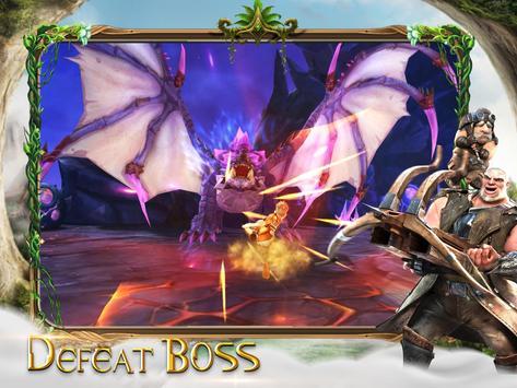 Throne of Elves: 3D Anime Action MMORPG ScreenShot1