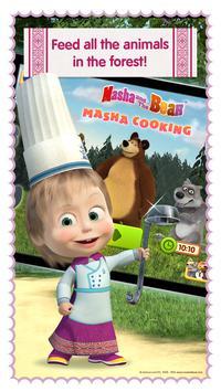 Masha and Bear: Cooking Dash ScreenShot1