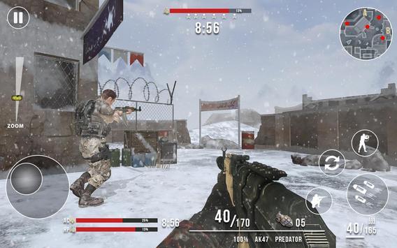 Rules of Modern World War Winter FPS Shooting Game ScreenShot1