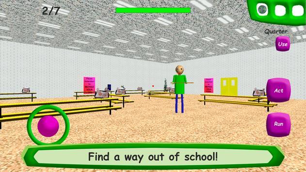 Baldis Basics in Education ScreenShot1