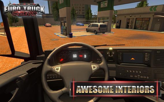 Euro Truck Driver 2018 ScreenShot1
