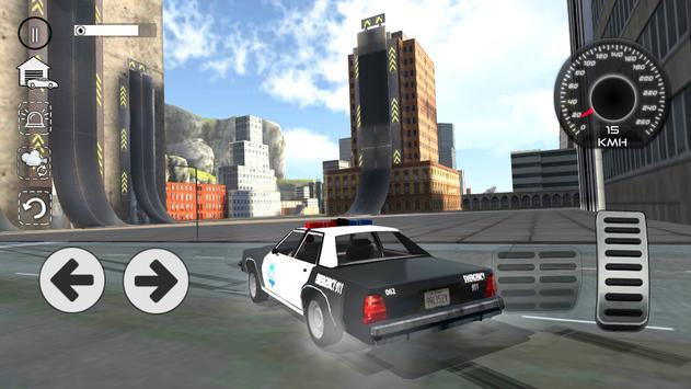 Police Car Drift Simulator ScreenShot1