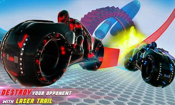 Tron Bike Stunt Racing 3d Stunt Bike Racing Games ScreenShot1