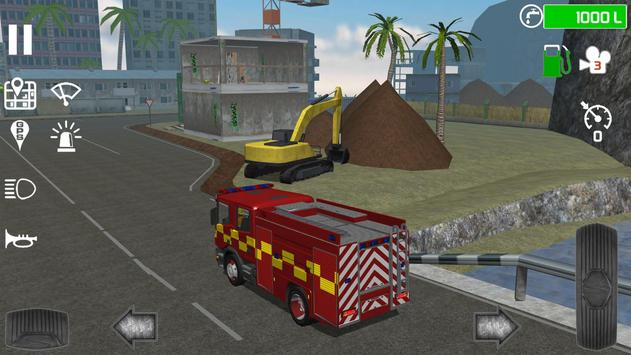 Fire Engine Simulator ScreenShot1