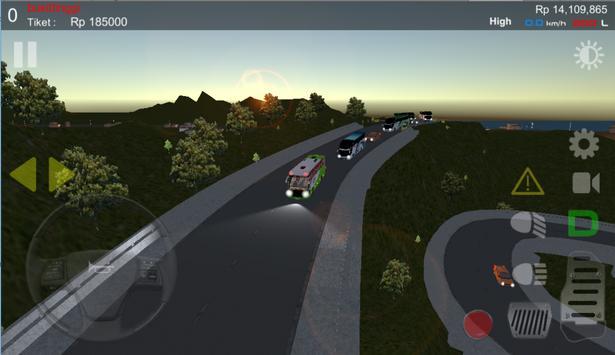 IDBS Simulator Bus Lintas Sumatera ScreenShot1