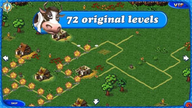 Farm Frenzy Free: Time management game ScreenShot1