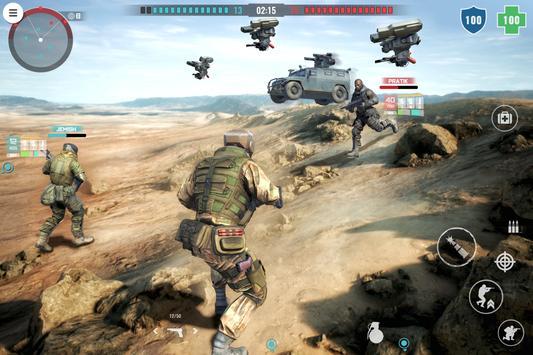 Country War : Battleground Survival Shooting Games ScreenShot1