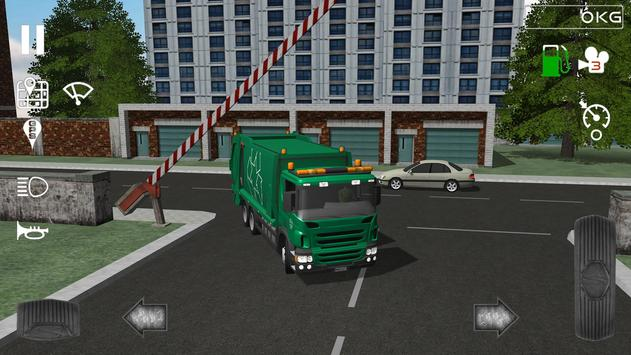 Trash Truck Simulator ScreenShot1