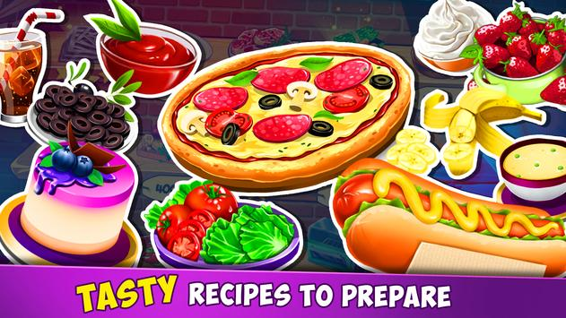 Tasty Chef  Cooking Games 2019 in a Crazy itchen ScreenShot1