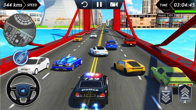 Police Car Driving  Crime Simulator ScreenShot1