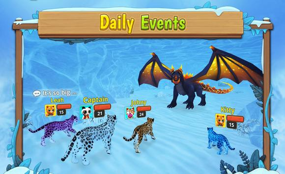 Snow Leopard Family Sim Online ScreenShot1