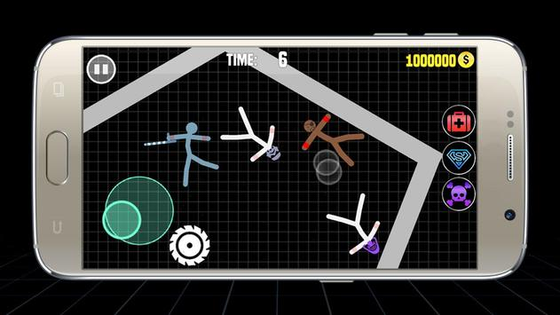 Stickman Warriors Online : Epic War ScreenShot1