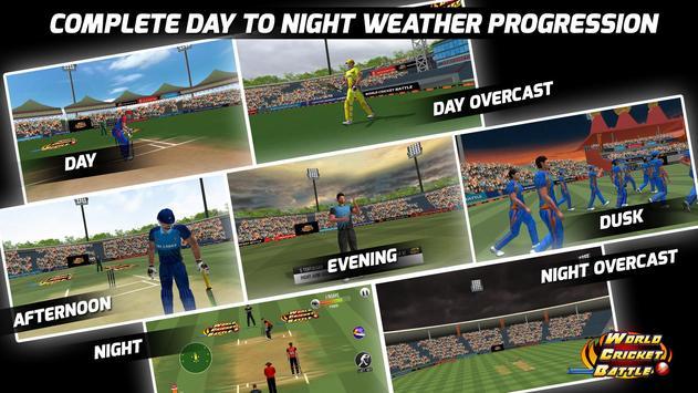 World Cricket Battle  Multiplayer and My Career ScreenShot1