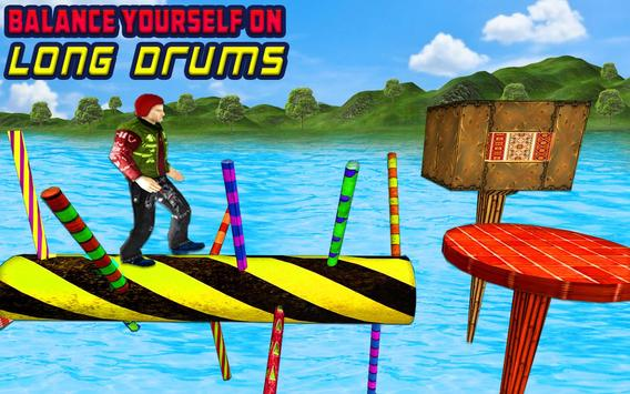 Water Park Games: Stunt Man Run 2018 ScreenShot1