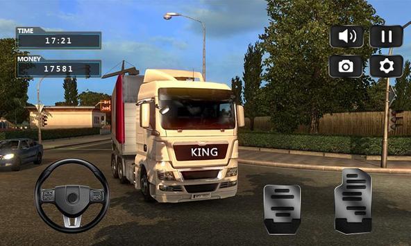 Realistic Truck Simulator 2019 ScreenShot1