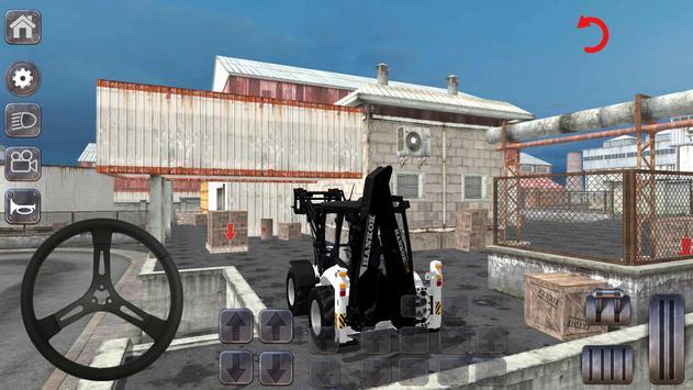 Backhoe Loader: Excavator Simulator Game ScreenShot1