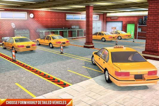 Drive Mountain City Taxi Car: Hill Taxi Car Games ScreenShot1