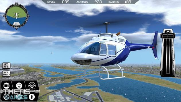 Flight Simulator 2017 FlyWings Free ScreenShot1