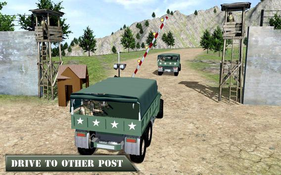 US Army Offroad Truck Driver 3D ScreenShot1