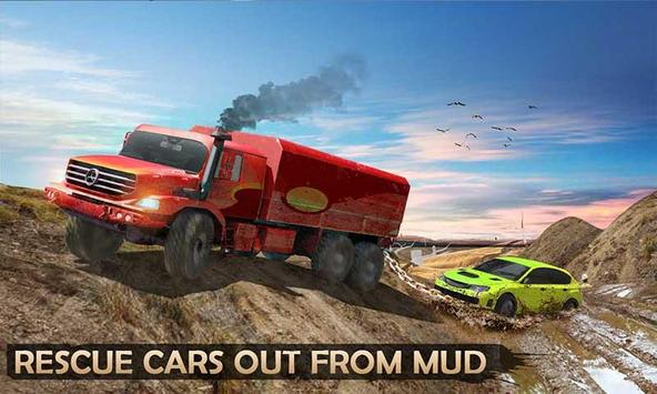 Extreme Offroad Mud Truck Simulator 6x6 Spin Tires ScreenShot1