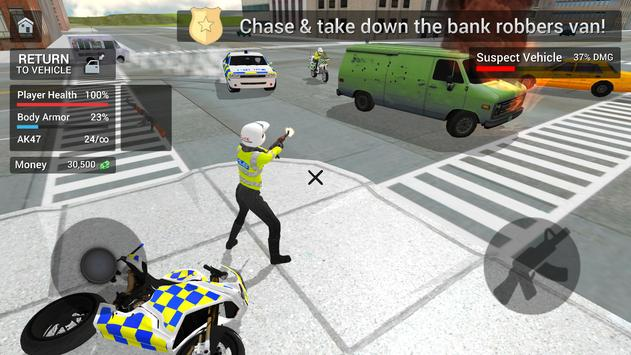 Police Car Driving  Motorbike Riding ScreenShot1