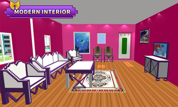 Doll House Design and Decoration : Girls House Games ScreenShot1