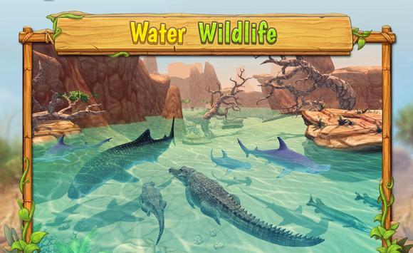 Crocodile Family Sim : Online ScreenShot1