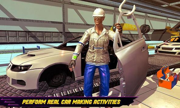 Car Maker Auto Mechanic Sports Car Builder Games ScreenShot1